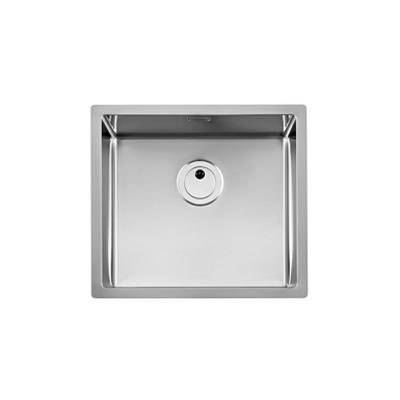 imagem para PRAGA 500mm Stainless steel single bowl kitchen sink