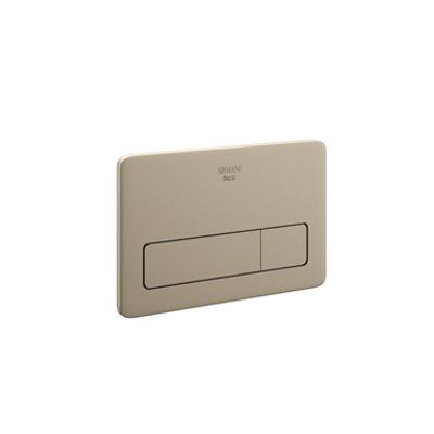 ARMANI - ISLAND 3/6 L dual flush operating plate 259 x 11 x 169 mm. için görüntü