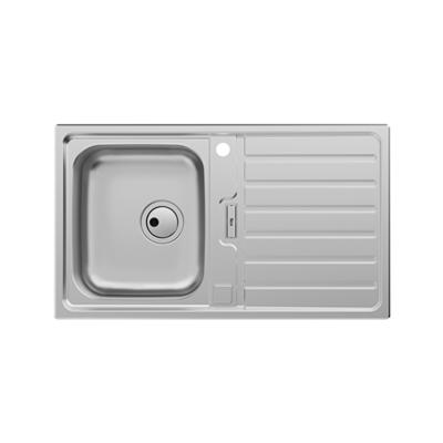 imagem para SIENA 860 Stainless steel single bowl kitchen sink