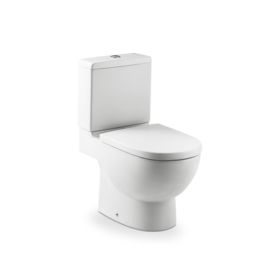 Immagine per MERIDIAN Back to wall vitreous china close-coupled WC with dual outlet and touchless mechanism