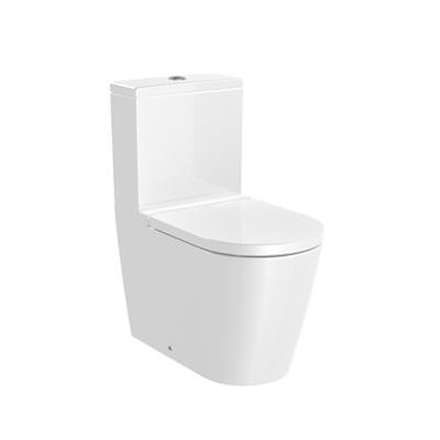 kuva kohteelle INSPIRA ROUND - Vitreous china close-coupled Toilet