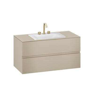 Image for ARMANI - BAIA 1200 mm wall-hung furniture for deck-mounted basin mixer and countertop washbasin