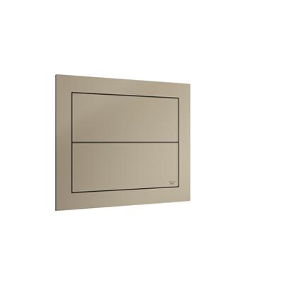 ARMANI - ISLAND 250x41.5x200mm Built-in 3/6L dual capacitative flush plate için görüntü