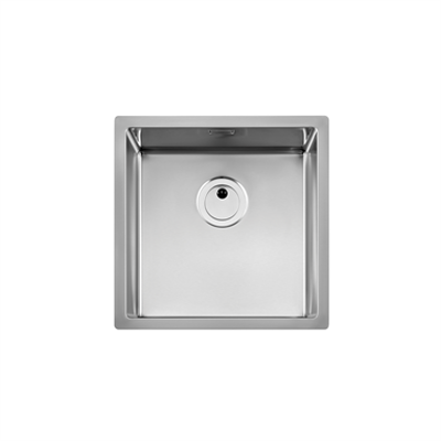 PRAGA 450mm Stainless steel single bowl kitchen sink图像