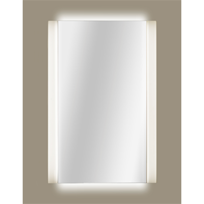 Image for ARMANI - ISLAND 980 x 1200 mm lighted mirror with demister and Maxiclean treatment