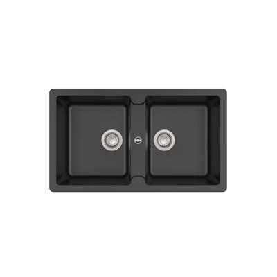 imagem para BERGEN 860 QUARZEX® double bowl kitchen sink