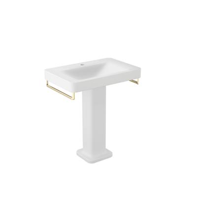 Image for ARMANI - BAIA 750mm 1-hole basin mixer  for wall-hung or pedestal washbasin
