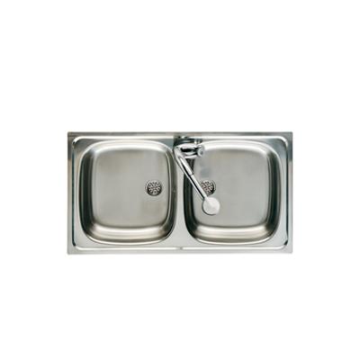 imagem para J 800 Double bowl kitchen sink