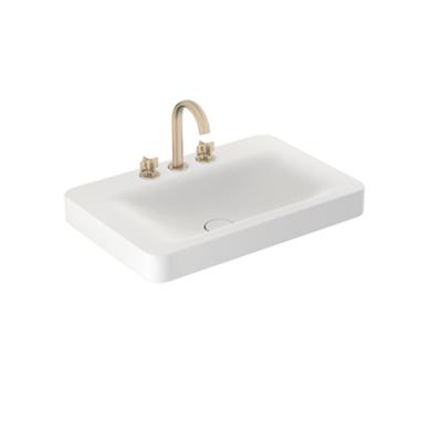 Image for ARMANI - BAIA 750mm 3-hole basin mixer for wall-hung or pedestal washbasin