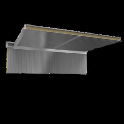 Image for Ceiling sandwich panels 2 steel facings PUR PIR core