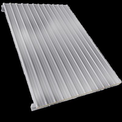 Steel facings s with panel roofing polyurethane core için görüntü