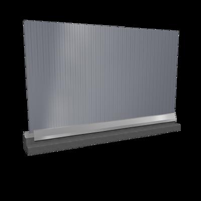 รูปภาพสำหรับ Wall sandwich panels 2 steel facings mineral wool core v installation
