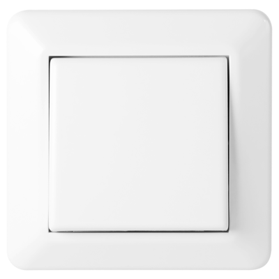 Image for 1-button cross switch RS16 flush PW RAL9003