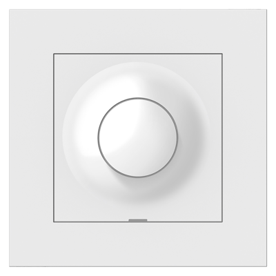 Image for PLUS rotary dimmer 100VA LED PW RAL9010