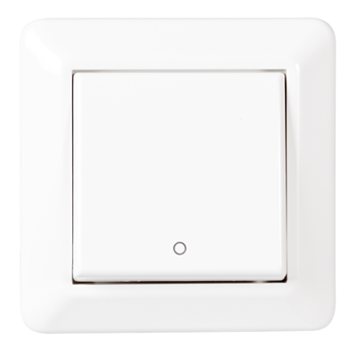 Image for 2-pole switch RS16 flush PW RAL9003