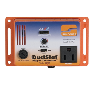 Image for Suncourt DS100 DuctStat Plug-In Switch