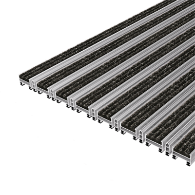 Image for TopCleanTrend® with Ribbed Carpet and Scraper Bar