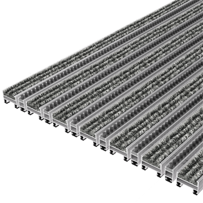 Image for TopCleanTrend® with Ribbed Carpet and Brush Strip