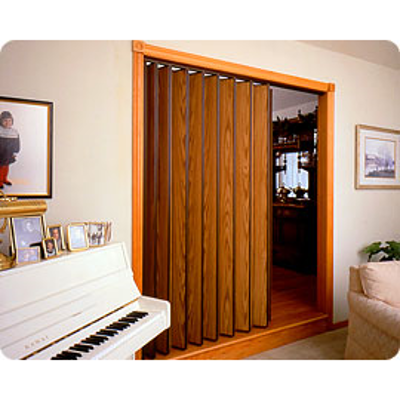 """Image for Series 220 Commercial/Residential Accordion Door, Up to 8' 1"""" Height, Up to 8' 0"""" Width"""