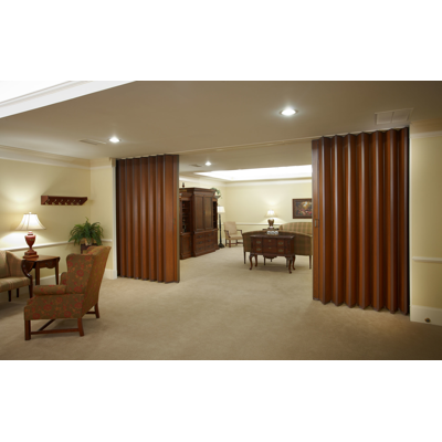 """Image for Series 4100 Acoustic Accordion Doors 6"""" or 8"""" panels to 12' high"""