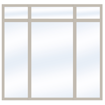 Image for Steel Glass Wall SD4220 P50