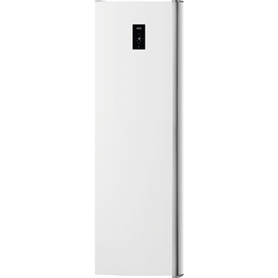 Image for AEG FS Upright Freezer 1850 Grey+Stainless Steel Door with Antifingerprint