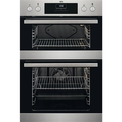 изображение для AEG Oven Double Cav BI Oven Electric 90x60 Clear Line Stainless Steel