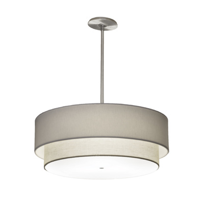 Image for Shaper™ Fabrique 143-P LED Multi-Tiered Drum Pendant
