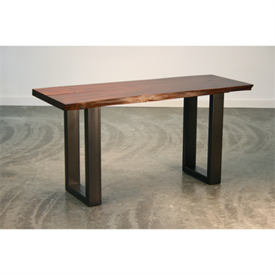 Image for Brower Table - Live Edge Maple Solid Wood - Standing Height