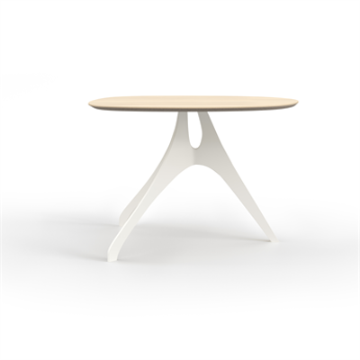 Image for Alki Table - Solid Wood - Knife Edge