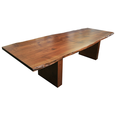 Image for Box with Boot Table - Live Edge Maple Solid Wood