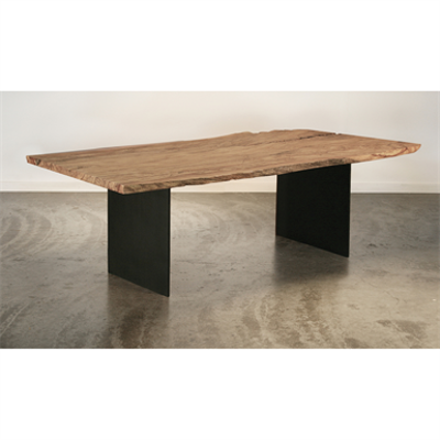 Image for Nara Table - Live Edge Maple Solid Wood