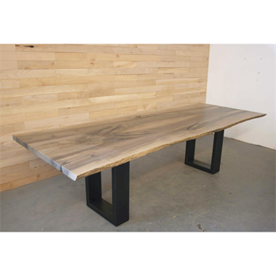 Image for Brower Table - Live Edge Maple Solid Wood