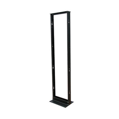 Image for 45U SmartRack 2-Post Open Frame Rack, 800-lb. Capacity - Organize and Secure Network Rack Equipment