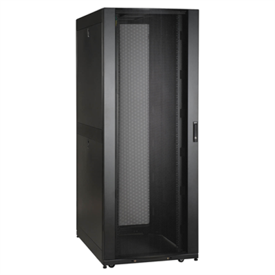 Image for 42U SmartRack Wide Standard-Depth Rack Enclosure Cabinet with Doors and Side Panels
