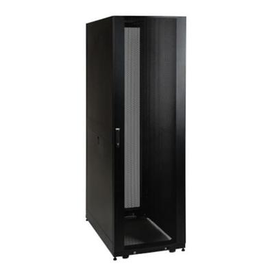 Image for 42U Server Rack, Euro-Series – Expandable Cabinet, Standard Depth, Doors & Side Panels Included