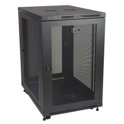Image for SmartRack 18U Mid Depth Rack Enclosure Cabinet