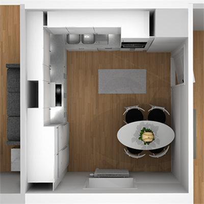 Image for L-Shaped Kitchen