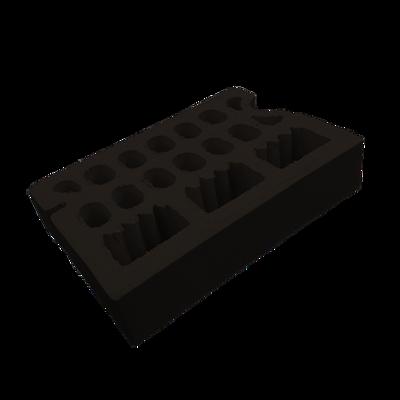 Image for Frontiss Brick Black Lanzarote