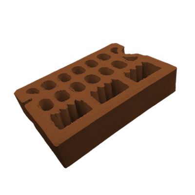 Image for Frontiss Brick Brown Mieres