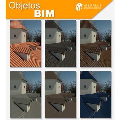 Image for Material Library - Clay tile roofing