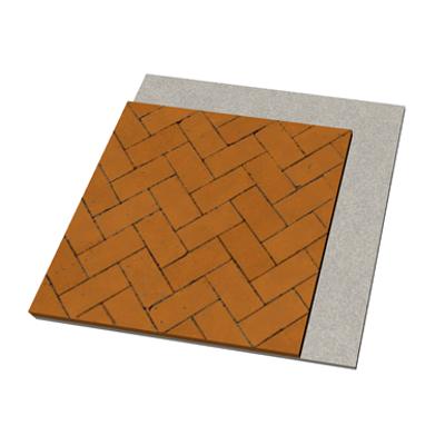 imagen para AC01 Pavimento exterior flexible de adoquines cerámicos. CA+Acf