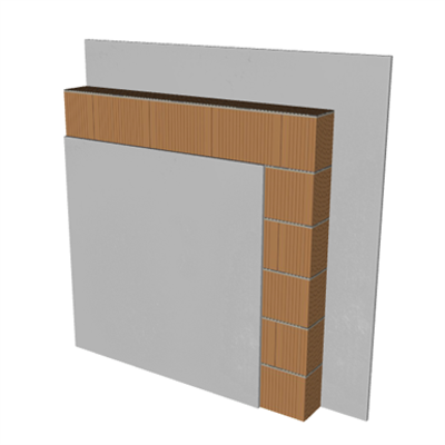 Image for PV01-B1 Silensis partition wall. ENL + BC14 + ENL