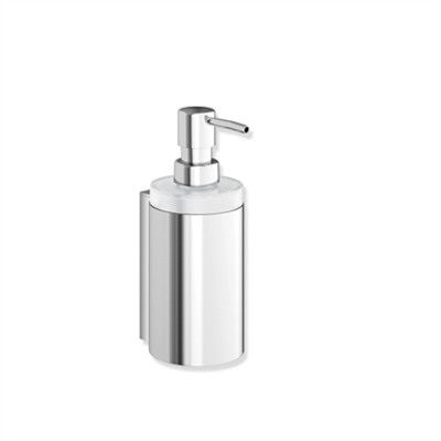 Image for Soap dispenser with holder - crystal glass