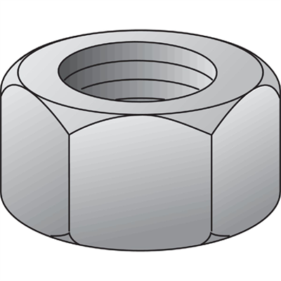 Image for Hexagon nut grade 8 DIN 934 HVAC
