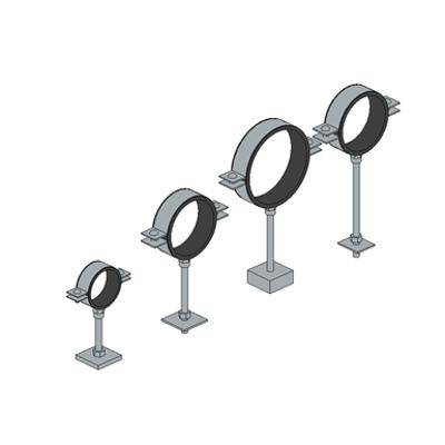 Heavy-duty Pipe Ring Compound - MP (sedimir galvanized) HVAC图像