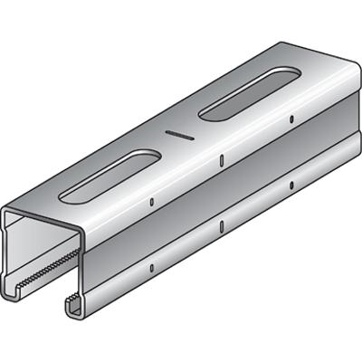 Image for Multi Duty Installation Rail MQ (sedimir galvanized/Hot-dip galvanized/stainless) - Poland HVAC