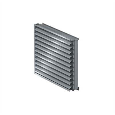 """Image for 9"""" RS-9615 - Storm Resistant Fixed Vertical Louver"""