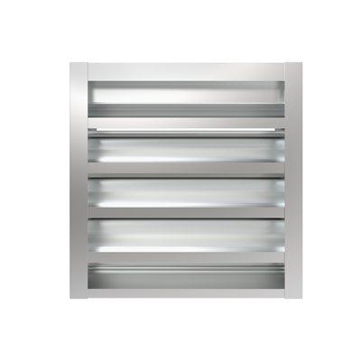 """Image for BL-6089 6"""" blast resistant, high performance drainable louver"""