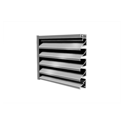 """Image for 6"""" A6105 - Standard Fixed Non-Drainable Louver"""